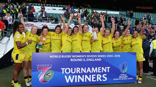Aussie women favourites for Rio after claiming rugby sevens world title
