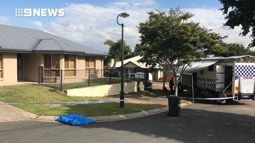 Police say the home is being considered a secondary crime scene. Picture: 9NEWS