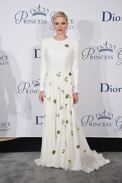 Princess Charlene of Monaco Princess Grace Awards Gala on October 24, 2016.
