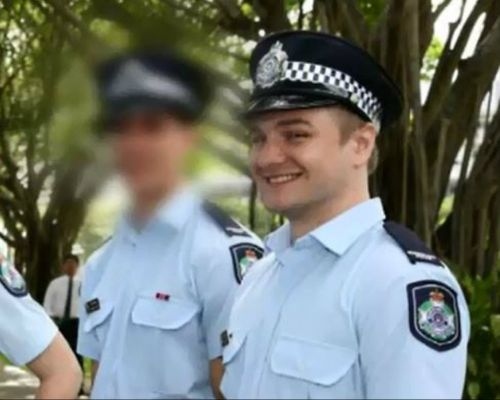 Queensland police officer Kurt Nesterowich was today acquitted of one charge of rape while a jury could not come to a decision on a second charge. Picture: AAP.
