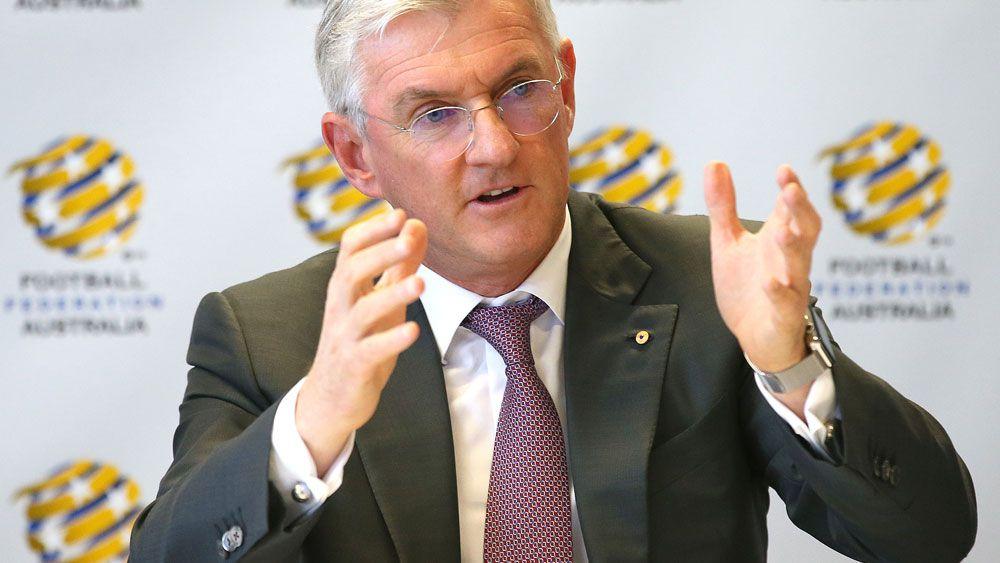 Football Federation Australia chairman Steven Lowy. (AAP)
