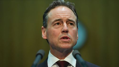 Federal Health Minister Greg Hunt has told people with coronavirus to 'go straight home'.