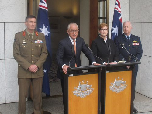 Prime Minister Malcolm Turnbull speaks at Parliament House. (AAP)