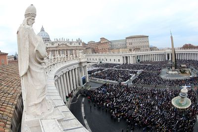 <strong>St. Peter's Square, Vatican City, Italy</strong>