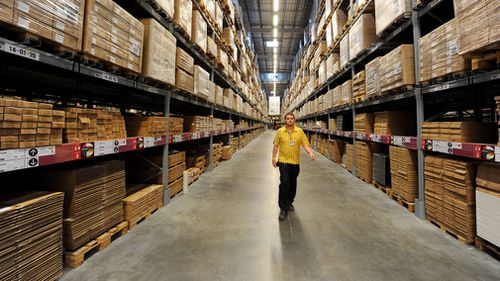 The radical new plan looks to increase Ikea's market share in Australia from six to 12 percent (AAP).