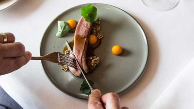"<a href=""http://kitchen.nine.com.au/2017/05/31/12/24/matt-morans-duck-breast-with-pumpkin-and-tamarind"" target=""_top"">Matt Moran's duck breast with pumpkin and tamarind</a> recipe"