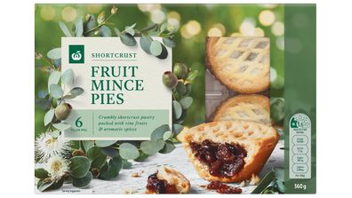 Fruit mince pies have been reduced in advance of Christmas