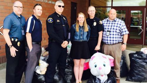 Teen collects soft toys to help children in need