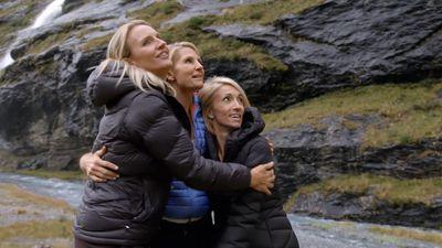 The Hosties felt a deep bond while at the glacier.