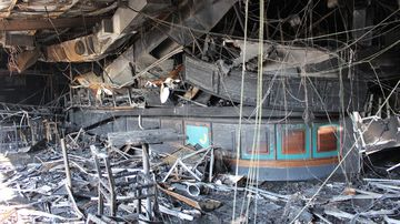 Photos reveal destruction after fire tore through beloved RSL