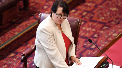 NSW Labor MP Penny Sharpe has co-sponsored a bill to introduce a safety access zone around abortion clinics. Picture: AAP.