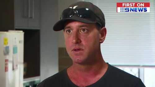Alyssa's dad Adam New says the driver shouldn't be fired. (9NEWS)