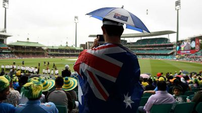 The cricket got underway in Sydney with the Aussies taking on the Indian team. (AAP)
