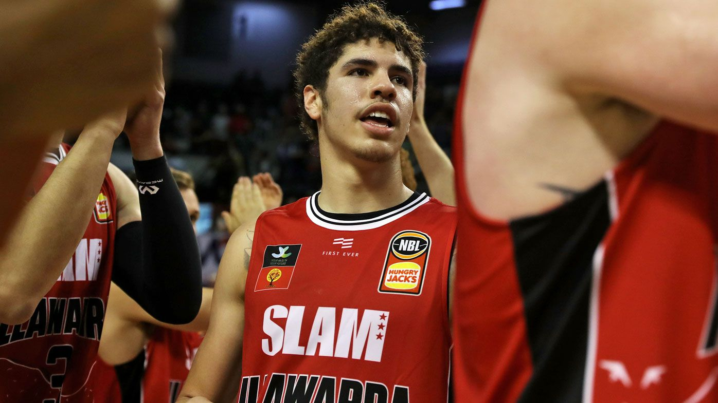 America in awe of 'insane' LaMelo Ball game-winning NBL display
