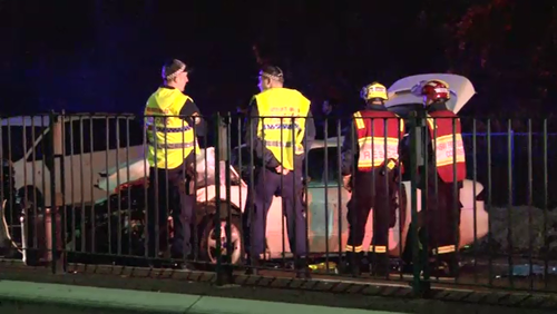 Matthew Wise allegedly failed to stop for a random breath test. (9NEWS)