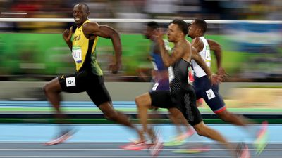 <strong>USAIN BOLT'S REIGN CONTINUES</strong>