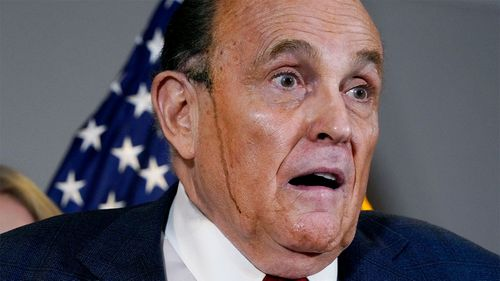 Rudy Giuliani met with a Ukrainian politician named in a intelligence report as a Russian operative.