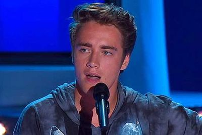 He was the dreamy Robert Pattinson lookalike who was eliminated in the quarter finals.