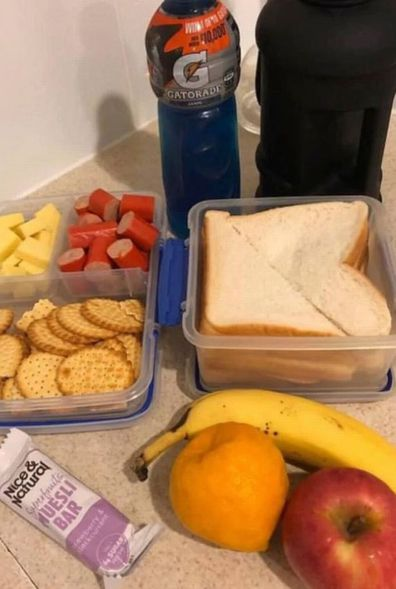 Wife's innocent packed lunch picture sparks social media tirade