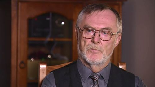 Brian Broughan explained backyard embalming is rife in the Queensland funeral industry. (9NEWS)