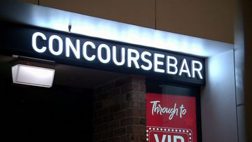 A staff member was stabbed at the Concourse Bay at Wynyard last night.