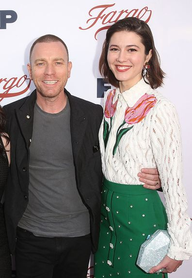 Ewan McGregor, Mary Elizabeth Winstead, red carpet, premiere