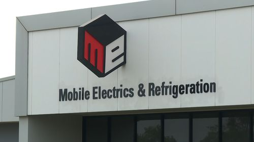 Mobile Electronics & Refrigeration has been operating in Darwin since 1971. Picture: 9NEWS