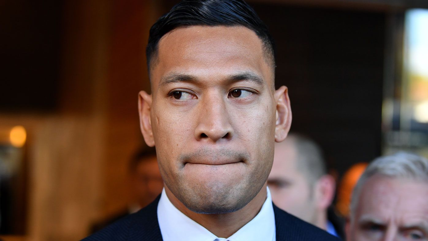Rugby Australia reveals stunning Israel Folau admission to code of conduct breach