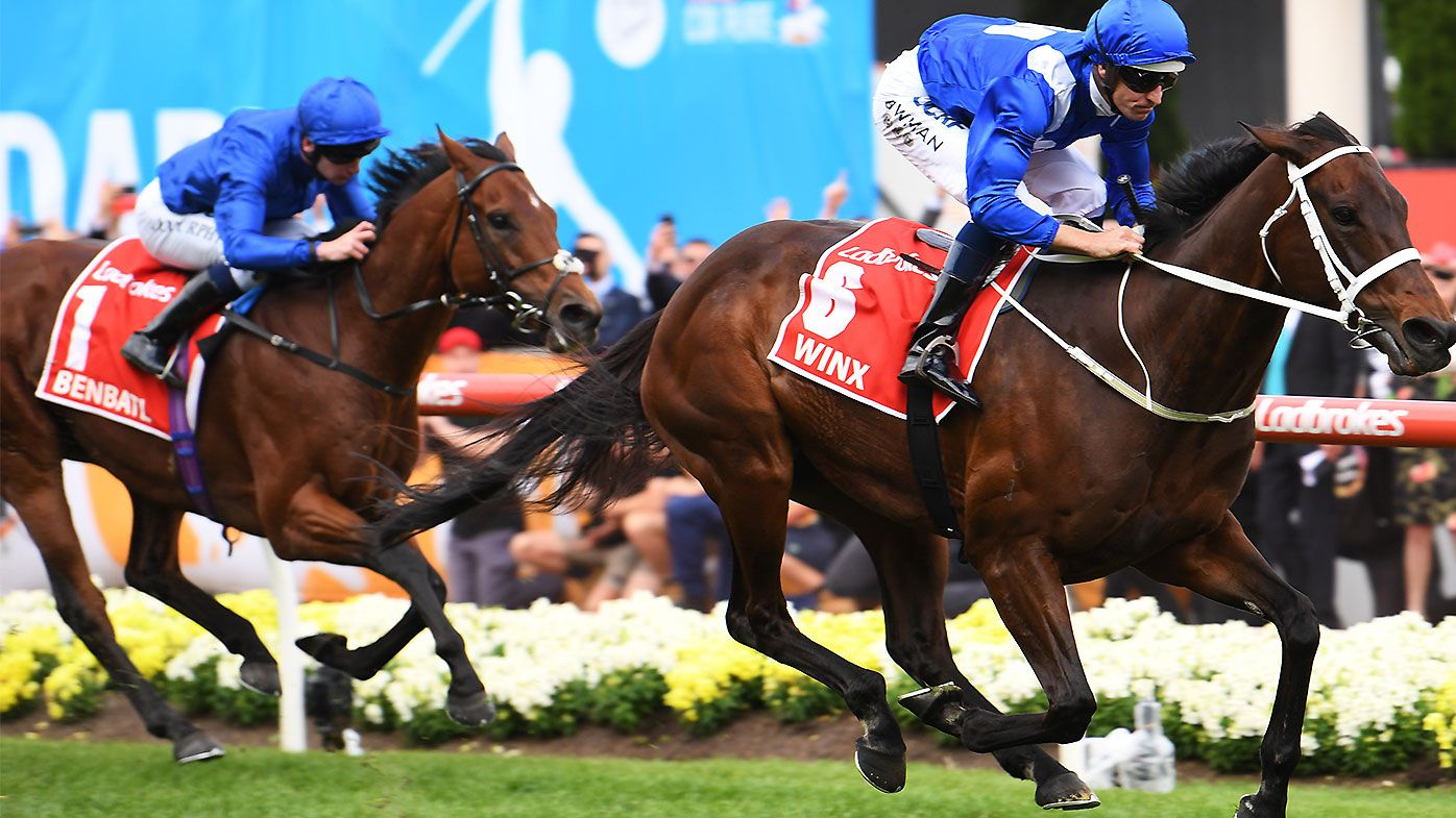 Punter breaks betting record on Winx ahead of Apollo Stakes appearance
