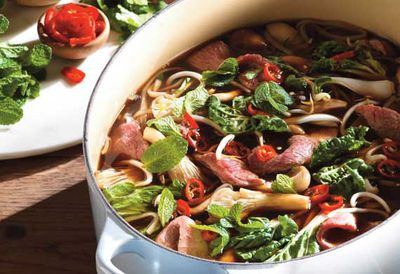 "Recipe: <a href=""/recipes/ibeef/9071073/vietnamese-beef-pho-with-noodles"">Beef pho with noodles</a>"