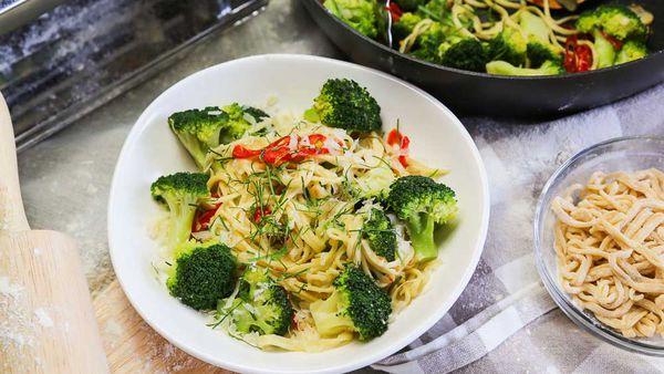 The Pluchinotta's Spaghetti with Broccoli