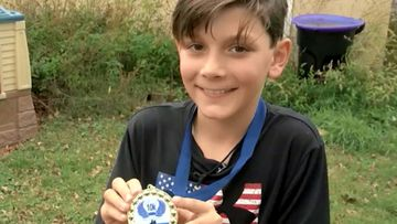 Minnesota boy Kade Lovell came out ahead of several adults despite running a race that was twice as longas he signed up for.