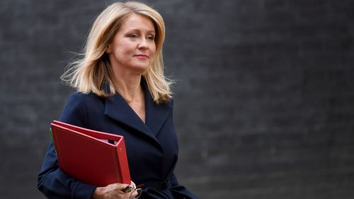 Former Works and Pensions Secretary Esther McVey.