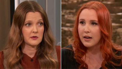 Dylan Farrow appears on The Drew Barrymore Show.