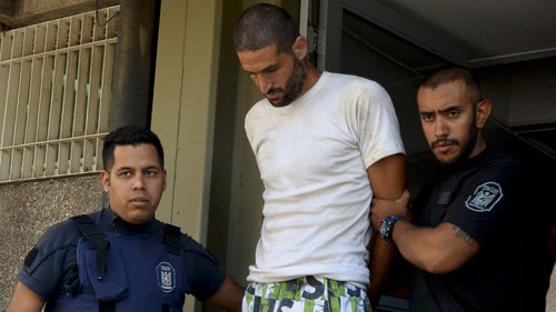 Gilad Pereg, the son of one of dead sisters is arrested as a suspect in Mendoza, Argentina.