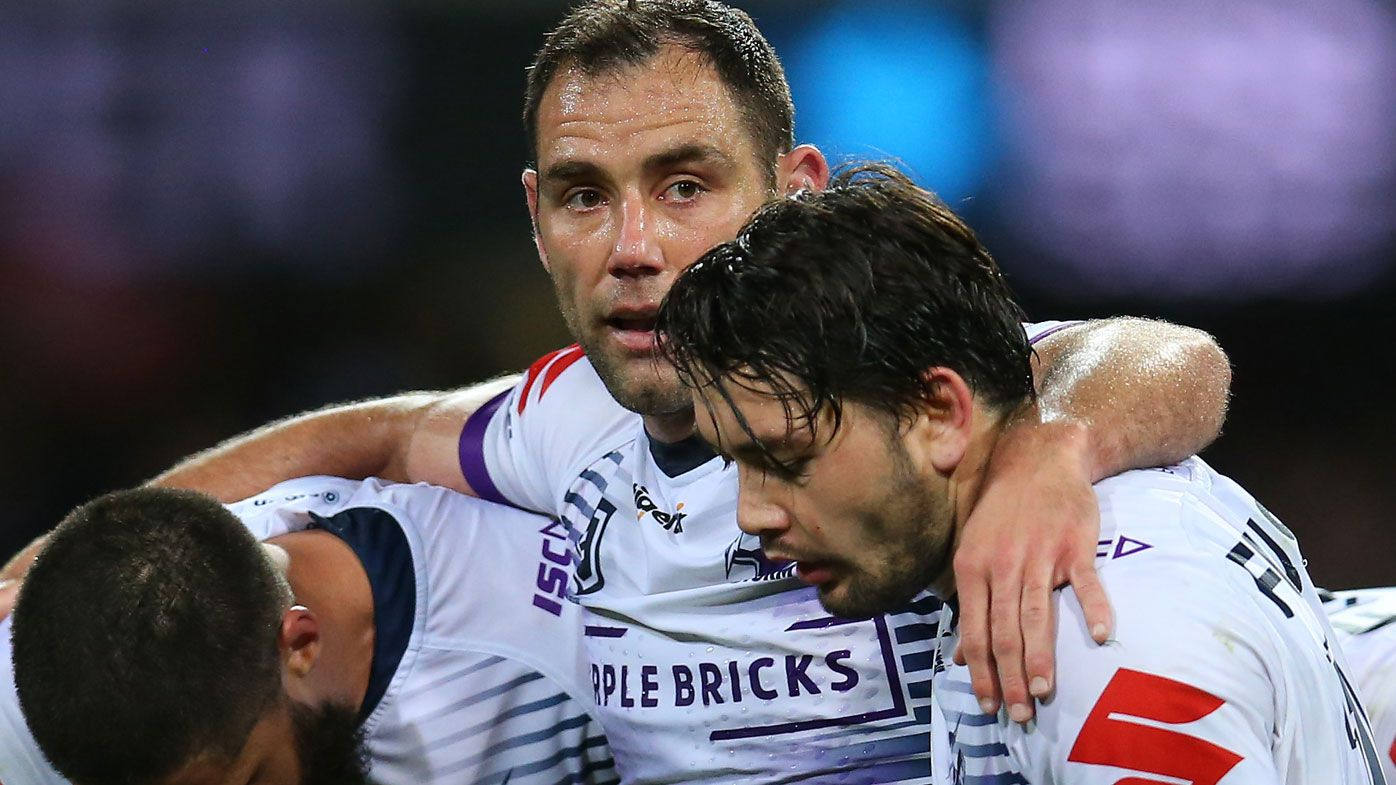 'This is all a bit of a game': Why Melbourne Storm's Cameron Smith will play on