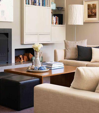 1. Re-arrange the furniture