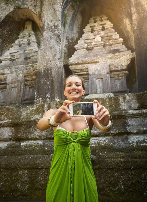 Five million tourists visit Bali every year, with social media photos starting to cause problems for locals.