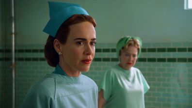 Sarah Paulson as Mildred Ratched in Netflix's Ratched.