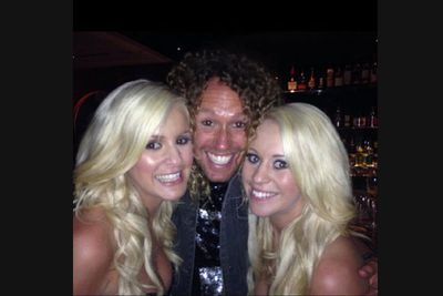 """@sugarsisterskl: 'Finale wrap party with Timmy!! Yay! :) K&L xx.'<br/><br/>For <i>Big Brother</i> catch-up, visit <b><a target=""""_blank"""" href=""""http://www.jump-in.com.au/"""">Jump-in.com.au</a></b>.<br/>"""