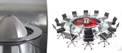 <strong>Boeing 747 jumbo jet conference table</strong>