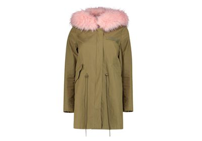 "<a href=""http://www.boohoo.com/new-in/boutique-megan-faux-fur-hood-parka/invt/dzz84090/"" target=""_blank"">Parka, $119, Boohoo</a>"