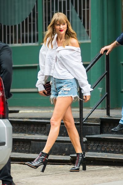 Taylor Swift in New York on July 22, 2018