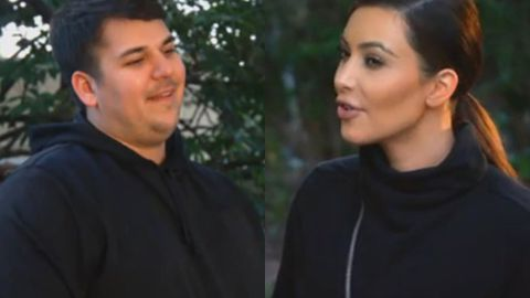KUWTK preview: Kim tells Rob he's 'not bipolar'