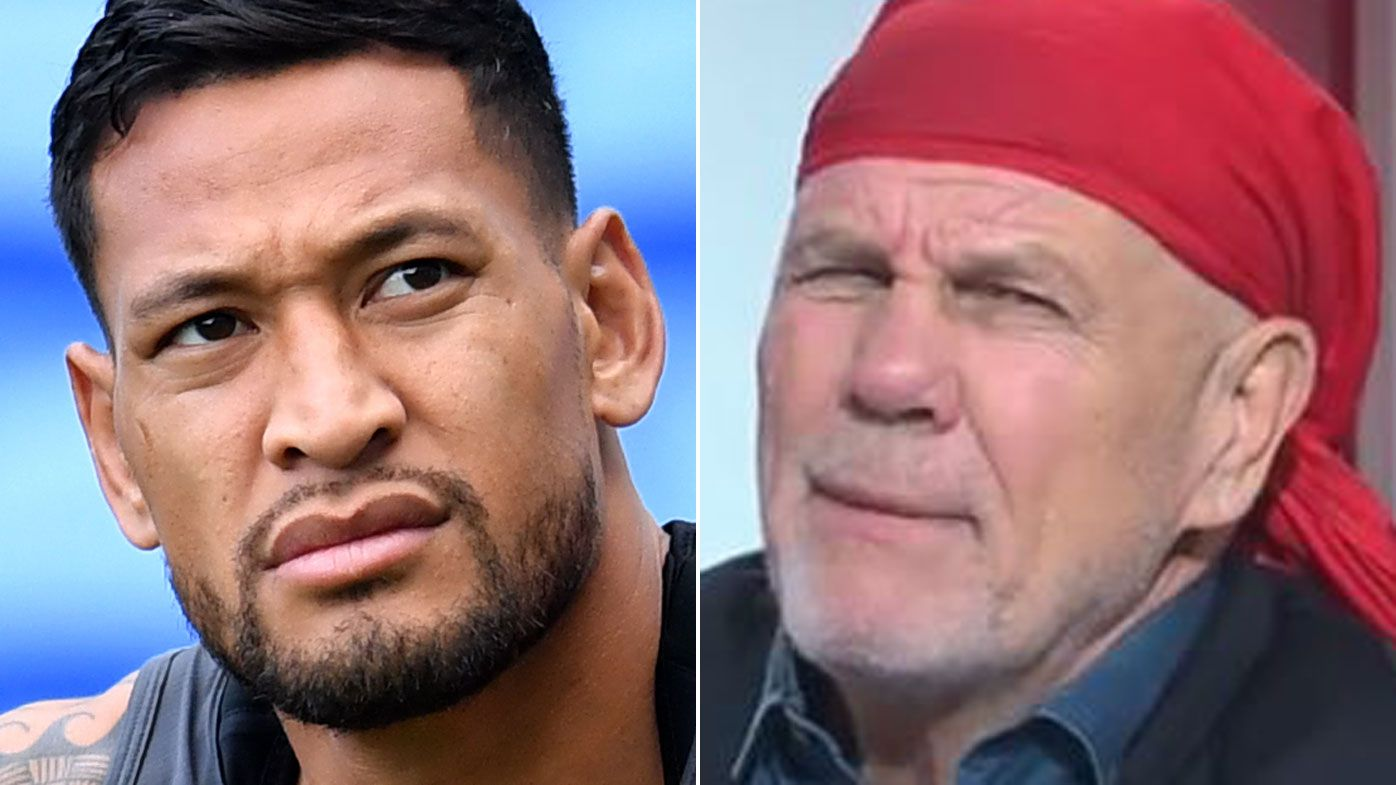 Israel Folau would be a toxic influence on rugby league, Peter FitzSimons says