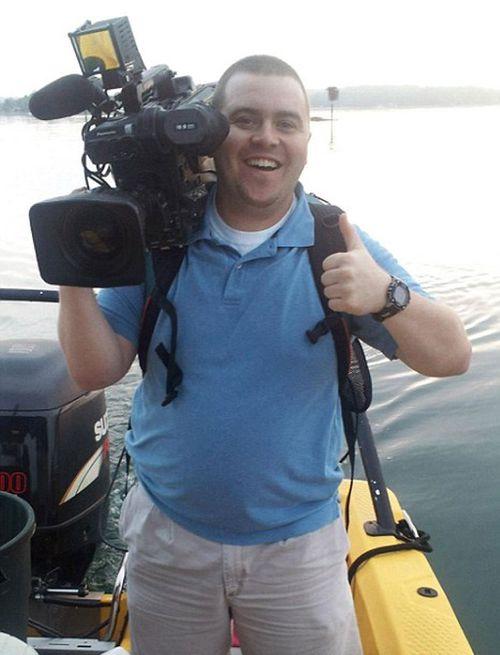 Murdered WSBJ7 cameraman Adam Ward. (Facebook)