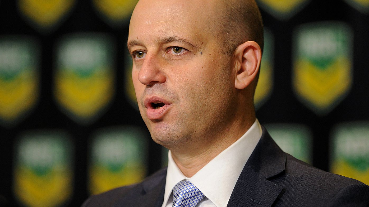 NRL boss Todd Greenberg takes blame for referee criticism