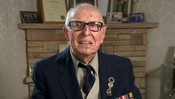 Oldest Anzac veteran to march