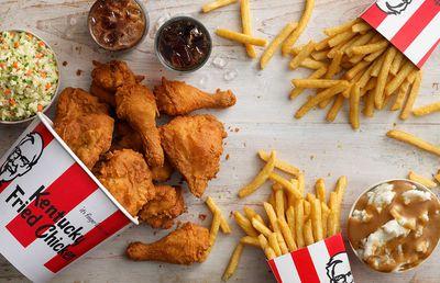 KFC — 6.8 million customers