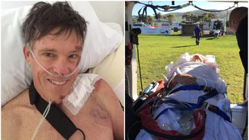 Injured cycling legend Phil Anderson determined to get back on the bike